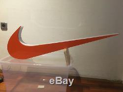 Vintage Nike Sign Logo 37 Lights Up Light Display Store Swoosh Advertising