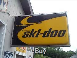 Vintage Ski-Doo Lighted Dealer Sign