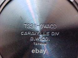 Vintage Stainless Bulova Caravelle N5 Devil Diver 666 4X Signed Gradient Dial
