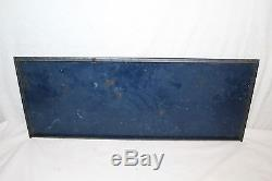 Vintage c. 1950 Delco Chevrolet Batteries Battery Gas Oil 25 Metal Sign