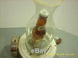 Vintage schlitz beer sign light 7 oz bottle 1959 lamp lantern bar mancave decor