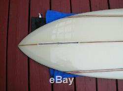 Vintage signed Bing Dick Brewer surfboard # 5 mint surfing surfer longboard WOW