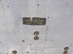 Vtg Large Antique Special Lubricants Porcelain Gas Service Station Display Sign